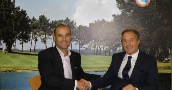 Convenio entre la Federación Gallega de Golf y AGM Sports
