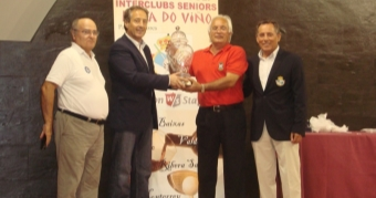 El equipo del Club de Golf Chan do Fento Campeón de la Liga Senior Ruta do Viño
