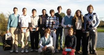 Adrián Martínez y Andrés Freire ganadores de la Crema de Navidad
