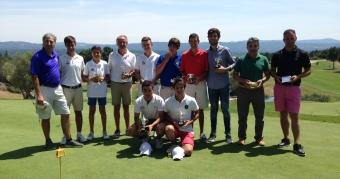 Adrián Martínez y Carlos Vidal, campeones gallegos de dobles