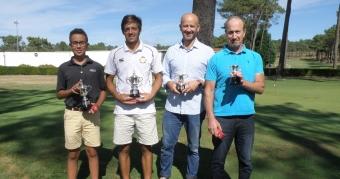 Adrián Martínez y Luis Tomás García Campeones de Galicia Absolutos
