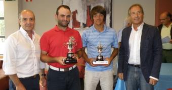 Adrián Martínez y Pablo Villar Campeones de Dobles de Galicia