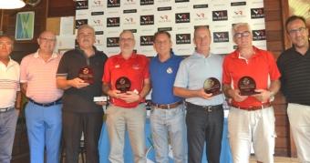 Alberto Campos y Fernando Coutado, vencedores de la 3ª prueba del Cto. Senior