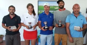 Alberto Campos y Judith Movilla, Campeones de Galicia de Pitch&Putt