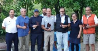 Alberto Campos y Matilde López Campeones de Galicia Senior de Pitch&Putt