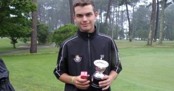 Alejandro Nimo Campeón del Trofeo Xunta Masculino