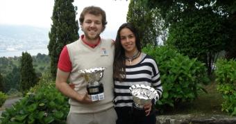 Andrés Freire y Ana Doval Campeones de Galicia de Parejas Mixtas