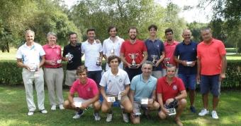 Andrés Freire y Gerardo Mosquera Campeones de Galicia de Dobles