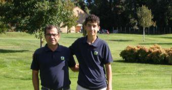 Antón Pérez y Francisco Purriños Campeones de Dobles de Pitch&Putt