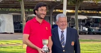Arcadio García-Tizón Campeón de España de 2ª Categoría