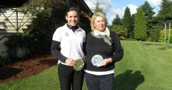 Bárbara Castro y Teresa Pajón Campeonas Absolutas de Galicia