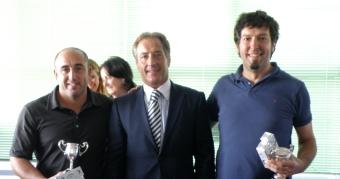 Blanco y Cenamor Campeones Gallegos de Pitch&Putt