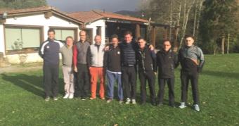 Clinic para premiados de diversas competiciones en el C.G. Val de Rois