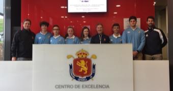 Concentración del grupo Sub 18 en el Centro de Excelencia de la RFEG
