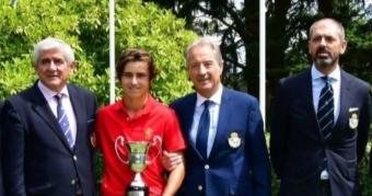Daniel Fernández Presidente de Honor de la Federación Gallega de Golf