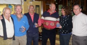 Dositeo Quintas y Roberto Lopo ganan la 6ª Prueba del Circuito Senior en Rois
