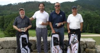El equipo de Luis Portela vence en el Pro-am de Mondariz
