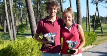 Fátima y Luis Fernández Cano Campeones de Galicia de Parejas Mixtas