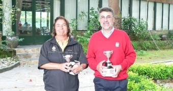 Francisco Baldó y Elena Catoira se proclaman Campeones de Galicia Senior
