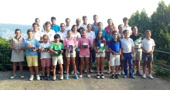 Gallegos benjamín, alevín, infantil y cadete 2015