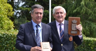 Gonzaga Escauriaza, Socio de Honor del Real Club de Golf de La Coruña