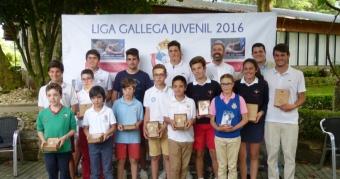 I Prueba de Liga Juvenil en el R.A.C. Vigo
