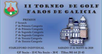 II TORNEO DE GOLF FAROS DE GALICIA