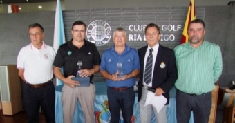 José Antonio Riveiro y Óscar Acevedo Campeones de Galicia Dobles de 3ª Categoría