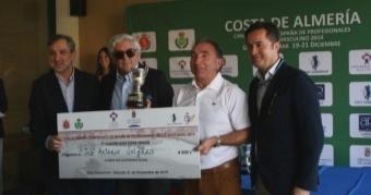 José Antonio Salgado, Campeón de España de Profesionales Super Senior