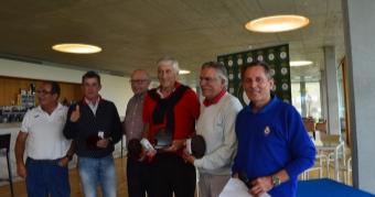 José Mª Fantova y Carlos Iglesias vencen en la 2ª Prueba del Cto. Senior