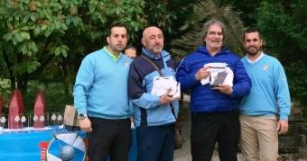 José A.Pérez y Juan Rodríguez ganan la 5ª P. de la Liga de Parejas de Pitch&Putt