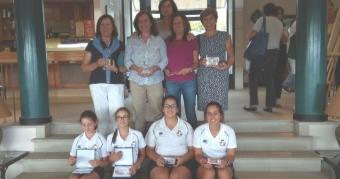 Laura Caamaño y Alba González se proclaman Campeonas de Dobles de Galicia