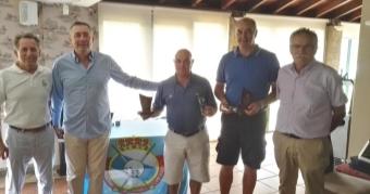 Luis Núñez y Juan Lamas, ganadores de la 2ª prueba del Circuito Gallego Senior