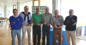 Manuel Basanta y Carlos Iglesias, ganadores de la 5ª prueba del Circuito Senior