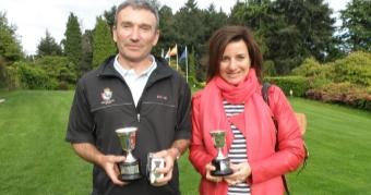 Manuel Carballal y Mª Carmen Ulloa Campeones de Galicia Mayores de 35 años