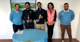 Manuel Togores y Luis Togores, Campeones Dobles de Galicia de Pitch&Putt