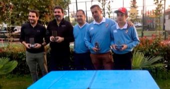 Marcos Gómez y Tomás Furelos Campeones del Match Play de Pitch&Putt
