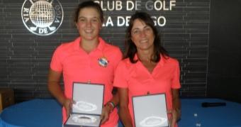 Marta García y Ana Llorca Campeonas de Galicia de Dobles