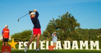 Marta García Llorca participa en el Estrella Damm Mediterranean Ladies Open