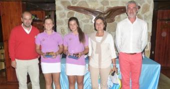 Marta García y Marta Quintana Campeonas de Dobles de Galicia