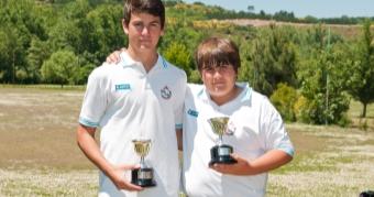 Pablo Rodríguez e Iñigo López-Pizarro Campeones de Galicia de Pitch&Putt