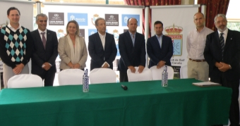 Presentación del I Campeonato de Galicia Match-play de profesionales