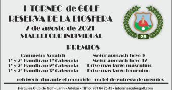 Primer Torneo de Golf Reserva de la Biosfera