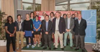 Primera jornada de juego del International Ladies Open en Augas Santas