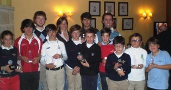 PRIMERA PRUEBA DE LA LIGA GALLEGA INFANTIL Y EL RANKING SUB 25 2012