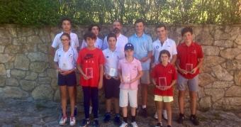 Primera prueba de Liga Gallega Juvenil en Golf Ría de Vigo