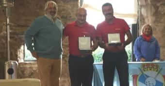 Ricardo García y Manuel Villadóniga Campeones de 3ª