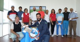 Santi Tarrío Campeón Gallego de Profesionales de Pitch&Putt