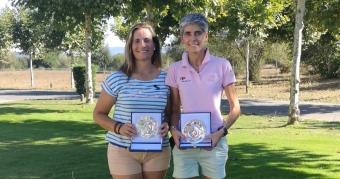 Sara Comesaña y Mª Jesús Rodríguez, Campeonas Dobles de Galicia Femeninas