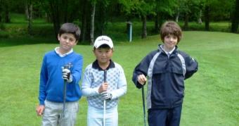 Tercera prueba Liga Infantil Gallega de Golf